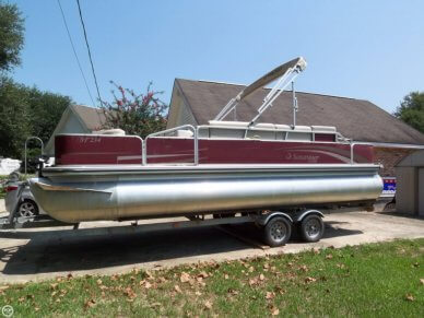 Lowe Suncruiser Pontoon Boat Ski & Fish 23 SF234, 23', for sale - $22,400