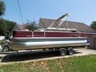 2011 Lowe Suncruiser Pontoon Boat Ski & Fish 23 SF234 - #1