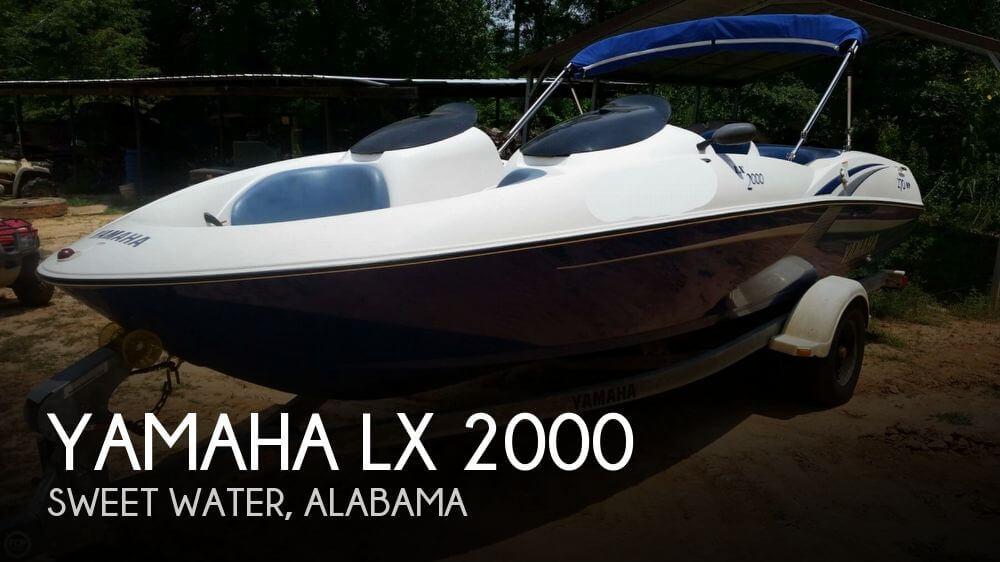 2002 Yamaha LX 2000 - Photo #1