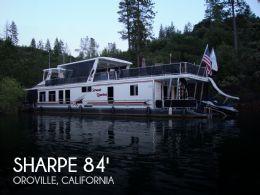 2006 Sharpe 84 foot Houseboat