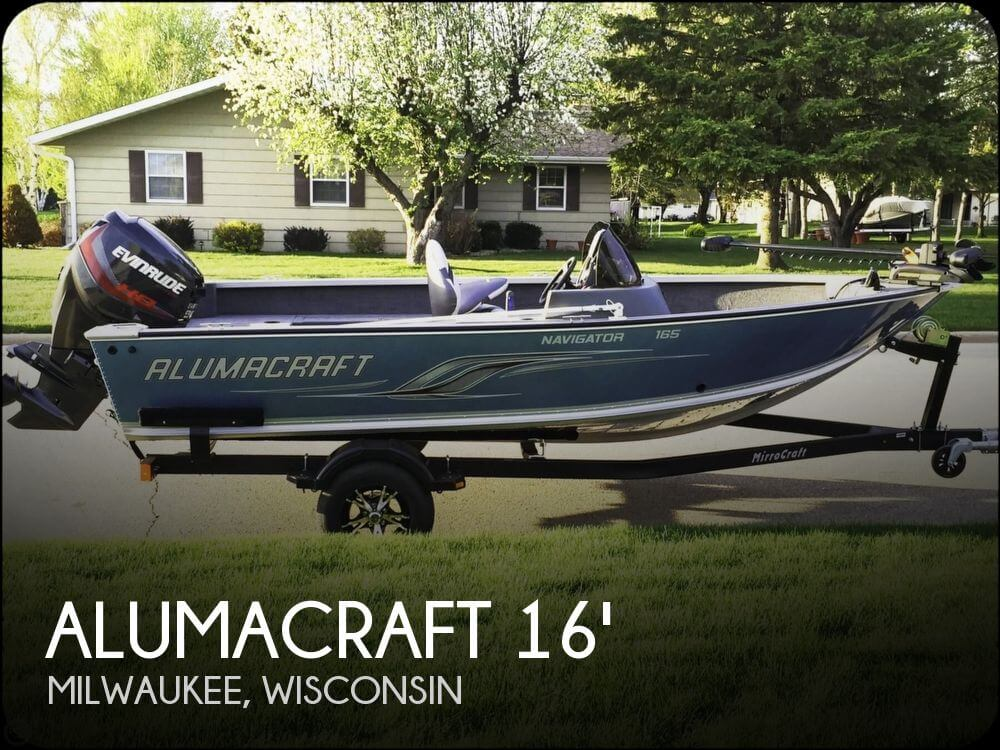 2013 ALUMACRAFT NAVIGATOR 165 CS for sale