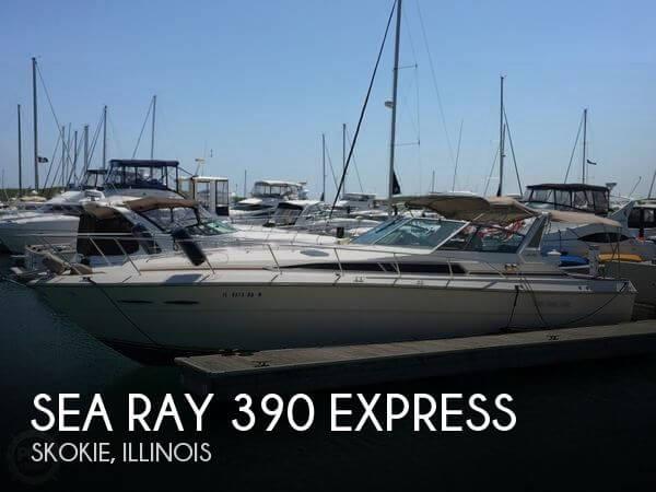 1986 Sea Ray 390 Express - Photo #1