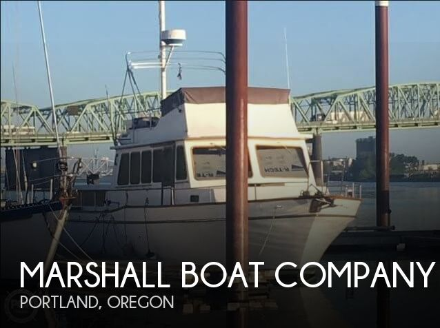 Used Boats For Sale in Portland, Oregon by owner | 1974 Marshall Boat Company 42