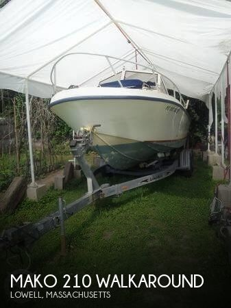 Used Ski Boats For Sale by owner | 1992 Mako 21