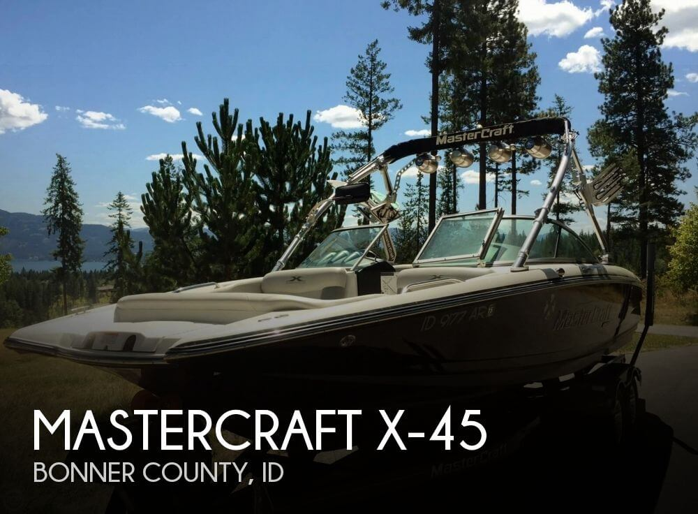 2008 Mastercraft X-45 - Photo #1