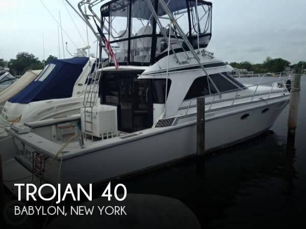 1988 Trojan 40 Fishing Boat For Sale In Davis Park Ny