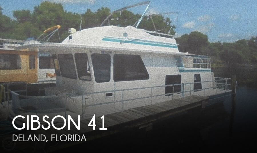 Used Boats For Sale in Deltona, Florida by owner | 2001 Gibson 41