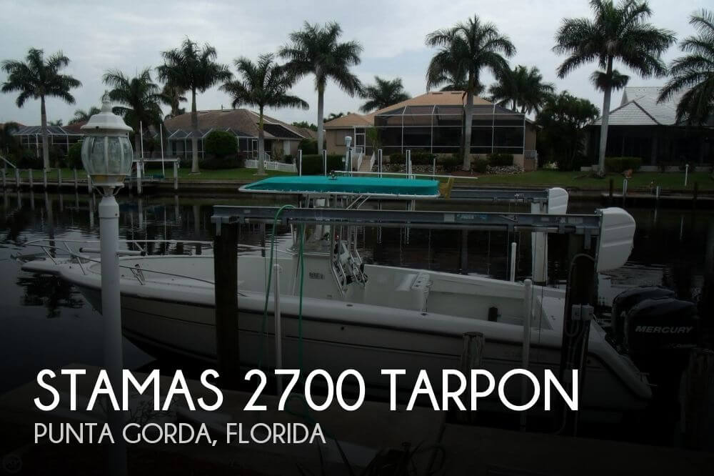 1996 Stamas 2700 Tarpon - Photo #1
