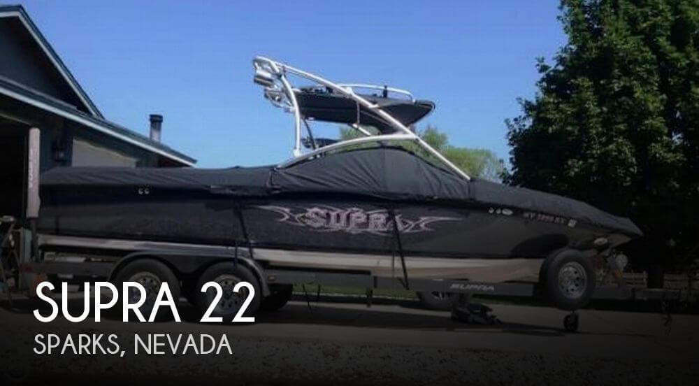 Used Boats For Sale in Reno, Nevada by owner | 2007 Supra 22