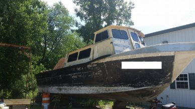 MonArk Workboat 36, 36', for sale - $55,000