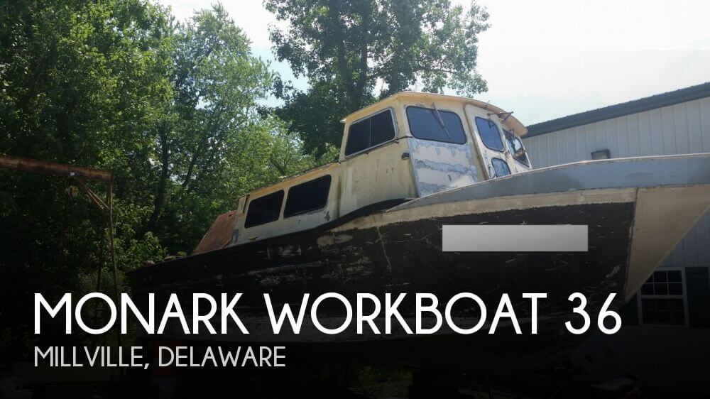 Used Boats For Sale in Delaware by owner | 1980 MonArk Workboat 3612V