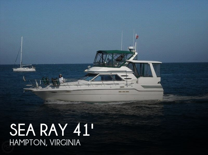1987 SEA RAY 410 AFT CABIN for sale