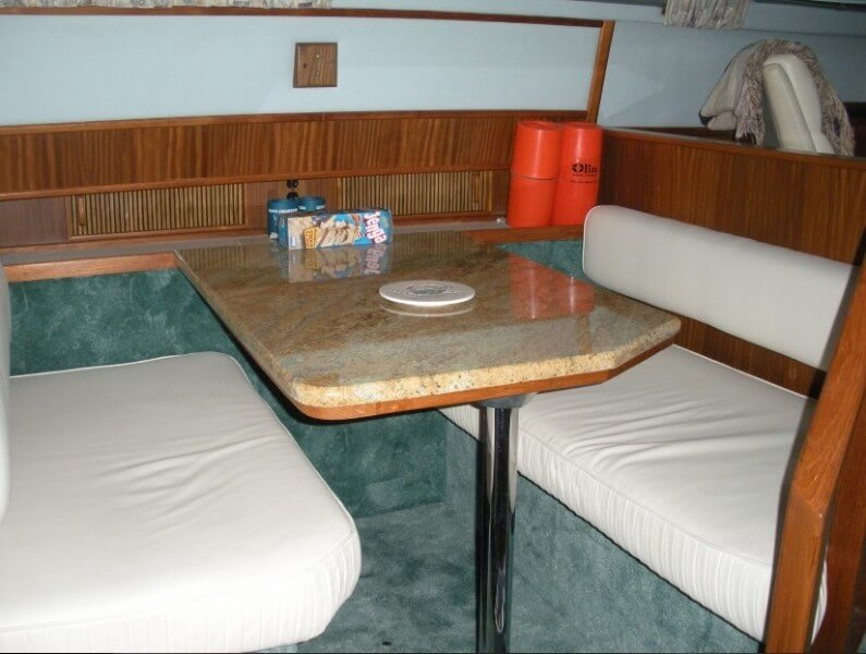 1987 Sea Ray boat for sale, model of the boat is 410 Aft Cabin & Image # 6 of 40