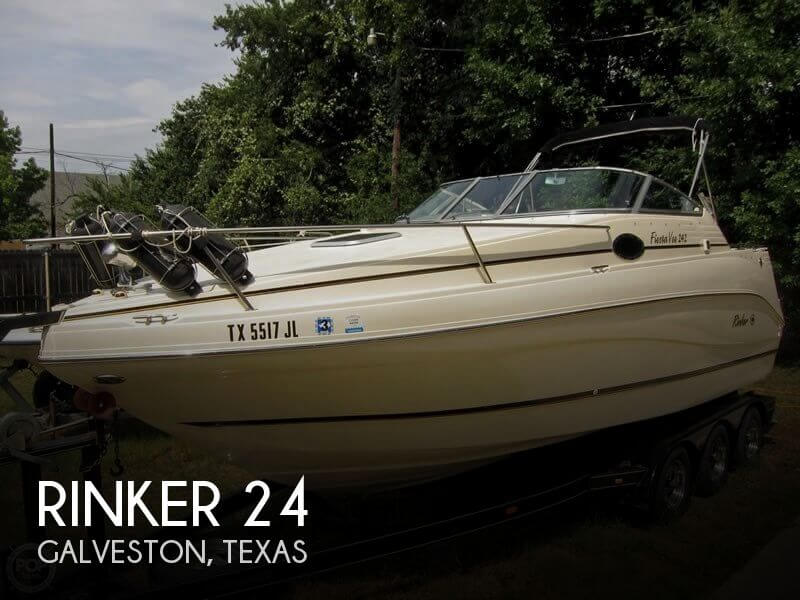 Used Rinker Boats For Sale in Texas by owner | 2001 Rinker 24