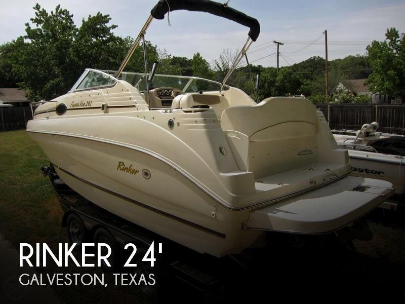 2001 Rinker Fiesta Vee 242 For Sale In Galveston Tx