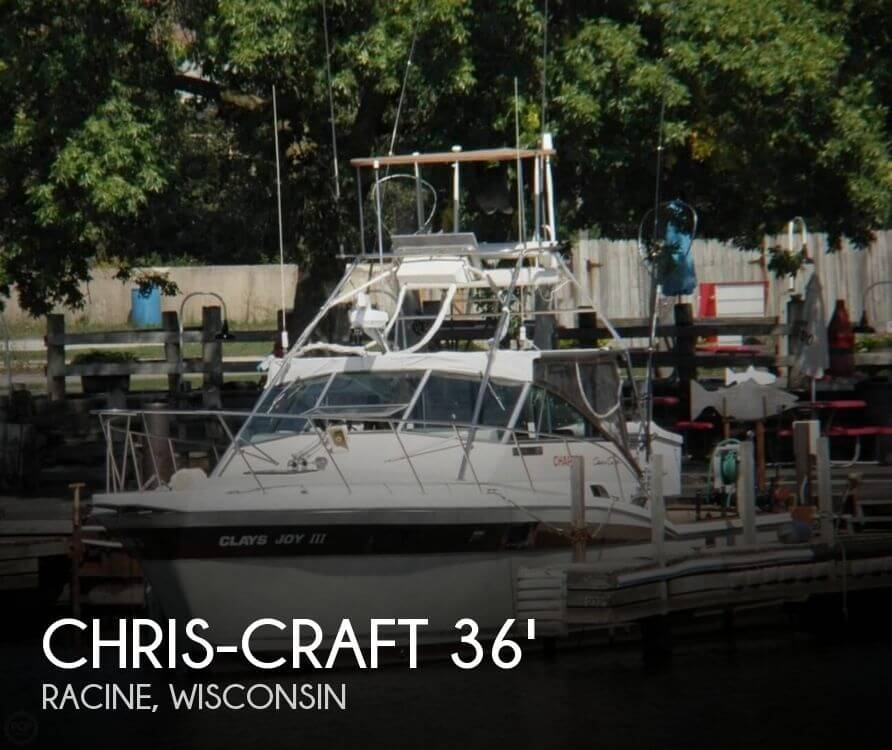 1983 Chris-Craft Commander 360 - Photo #1