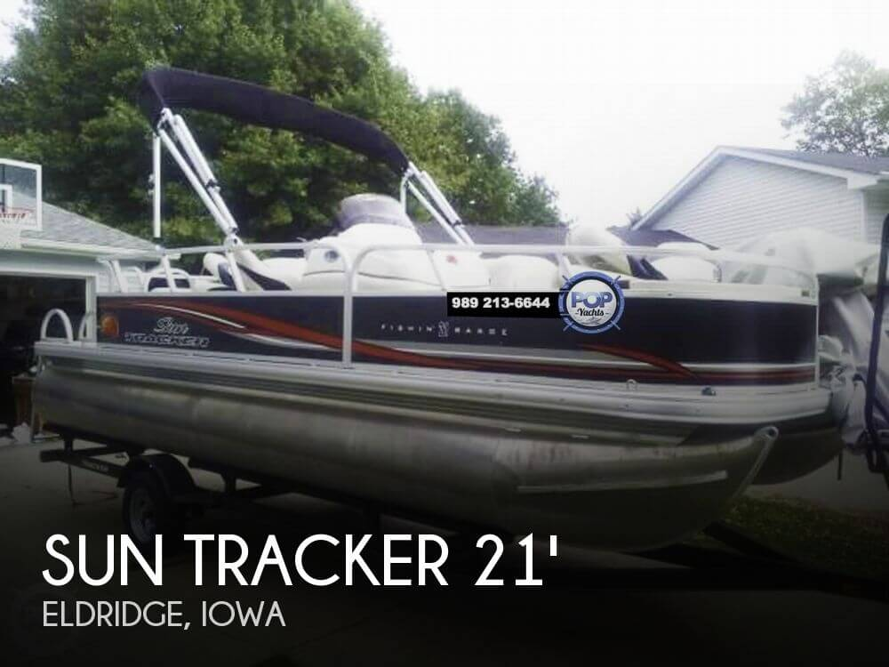 2011 Sun Tracker FISHIN BARGE 21 - Photo #1