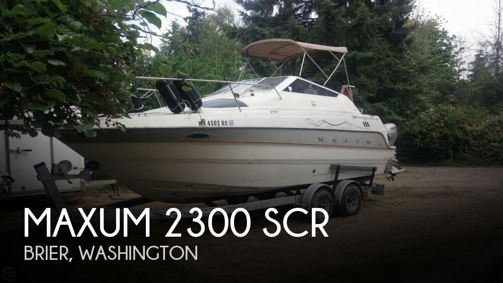 1993 MAXUM 2300 SCR for sale