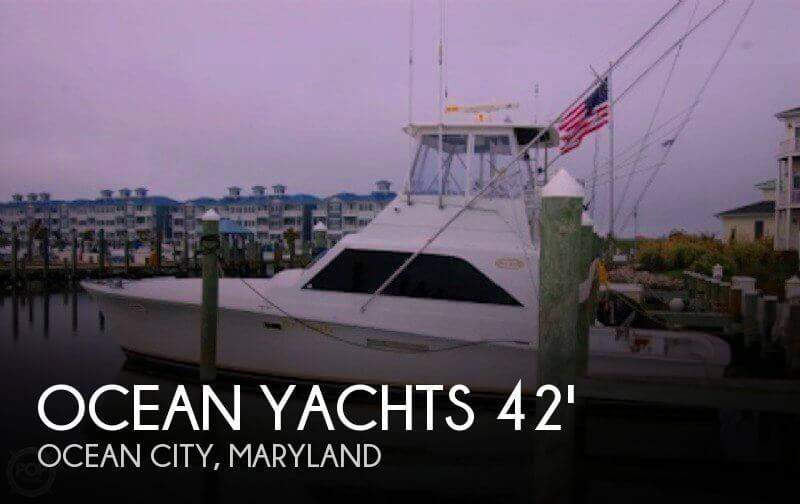1981 Ocean Yachts 42 Super Sport