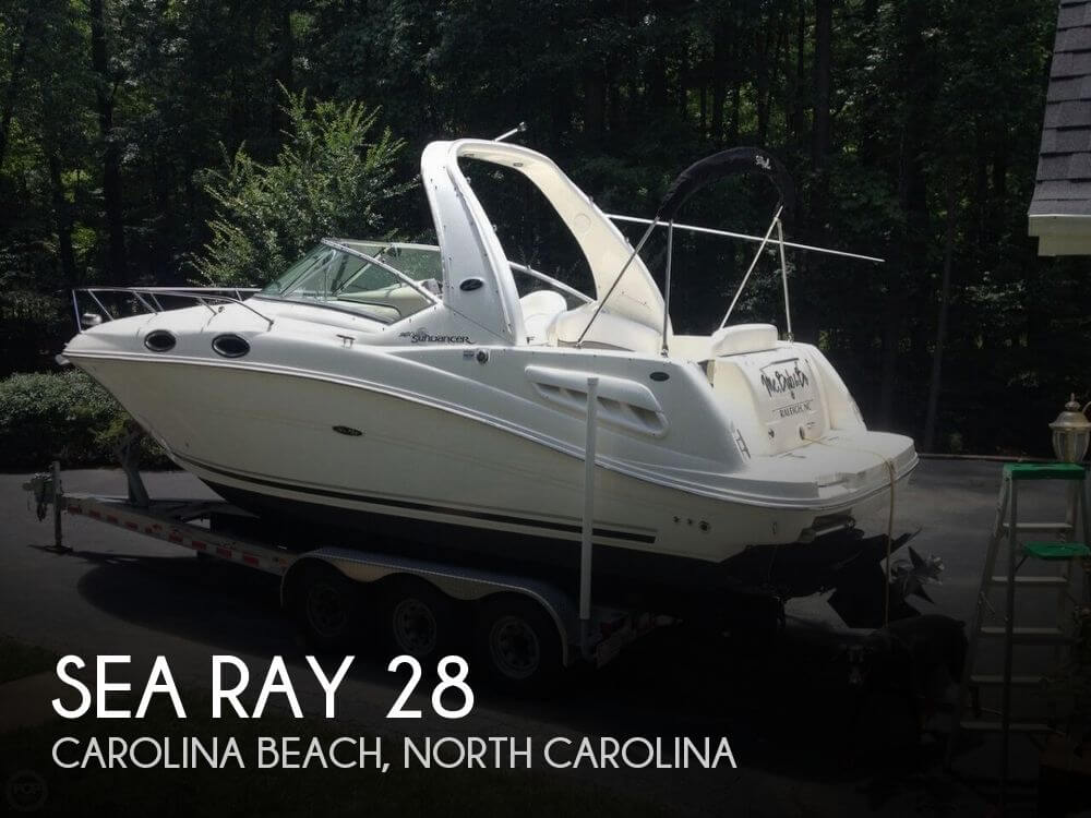 Used Boats For Sale in Raleigh, North Carolina by owner | 2007 Sea Ray 28