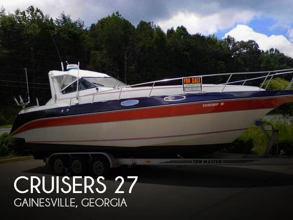 Used CRUISERS Boats For Sale by owner | 1986 Cruisers 27