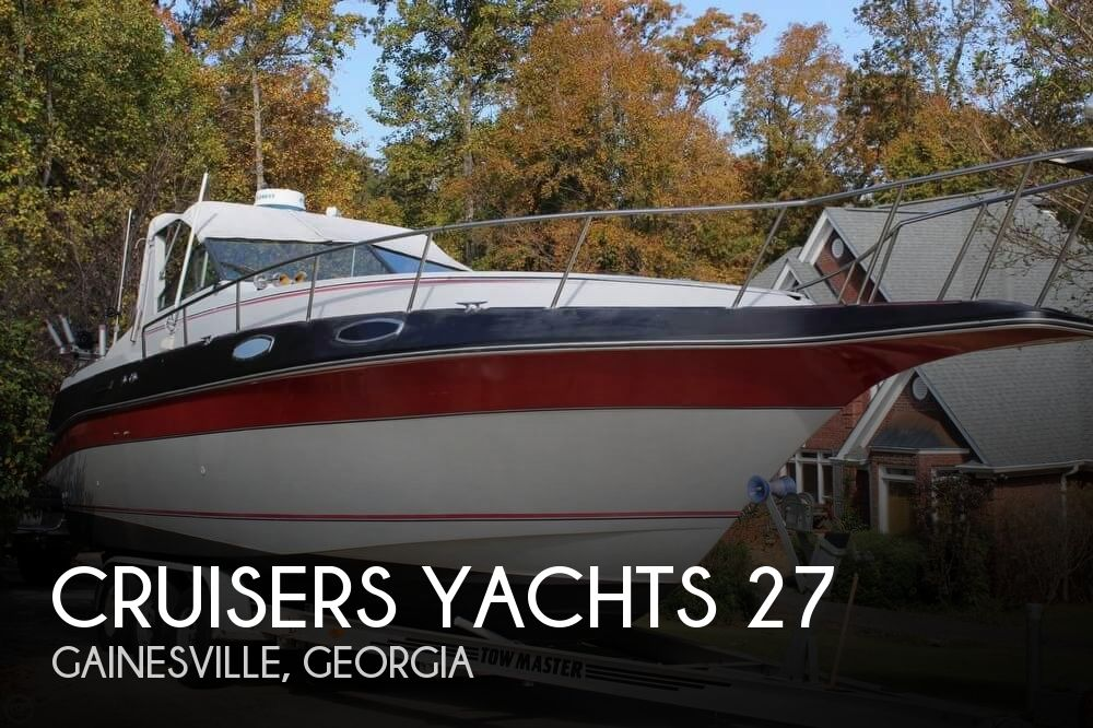 1986 Cruisers Yachts boat for sale, model of the boat is 27 & Image # 1 of 40