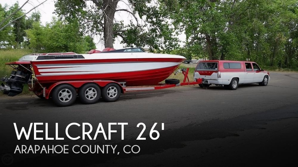 Used Boats For Sale in Greeley, Colorado by owner | 1989 Wellcraft 28