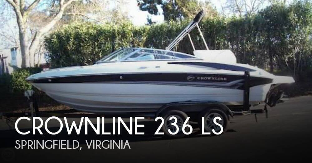 2005 CROWNLINE 236 LS for sale