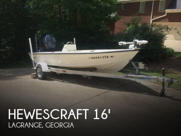 Used HewesCraft Boats For Sale by owner   1998 Hewescraft Bayfisher 16
