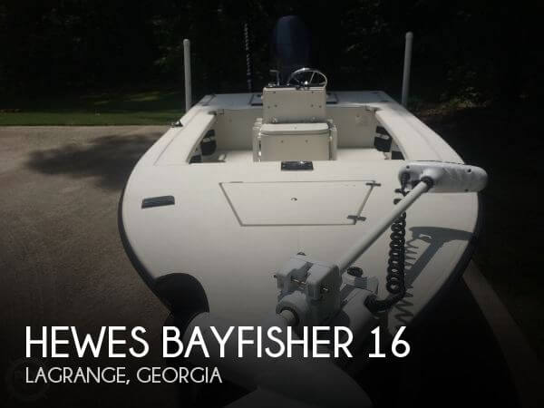 1998 Hewes Bayfisher 16 - Photo #1