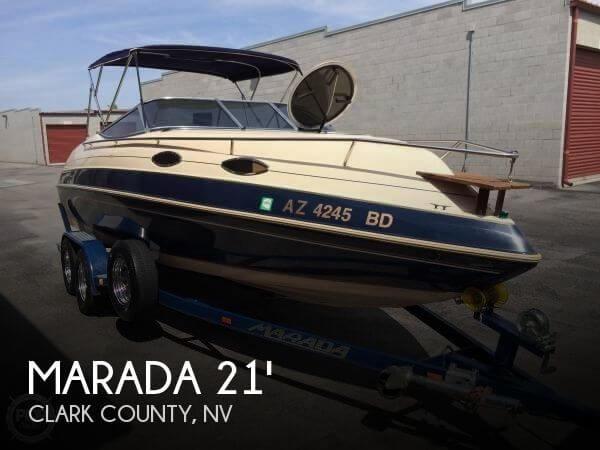 Used Marada Boats For Sale by owner   1998 Marada MX3 Weekender 21