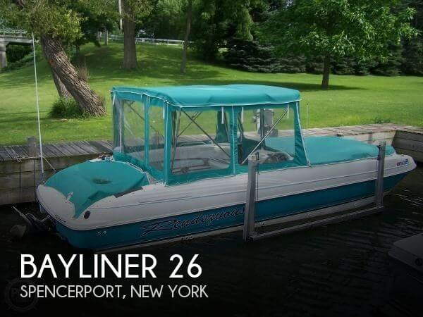 Used Deck Boats For Sale in New York by owner | 1996 Bayliner 26