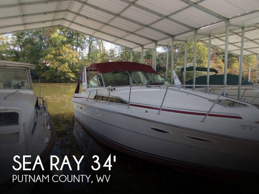 Used Boats For Sale in West Virginia by owner | 1988 Sea Ray 33