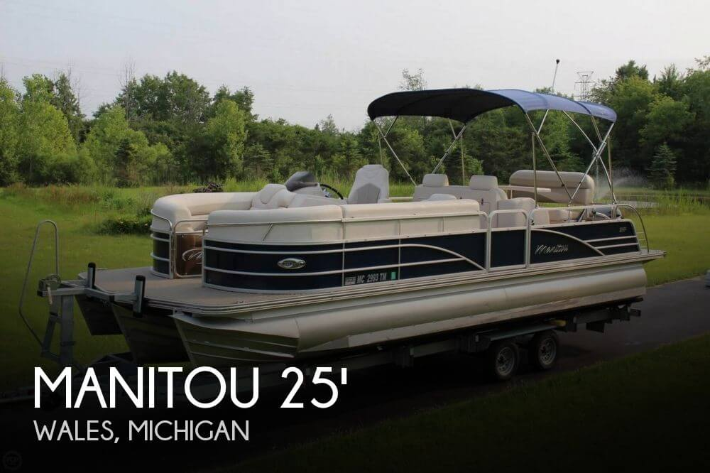 Used Pontoon Boats For Sale by owner | 2013 Manitou 25