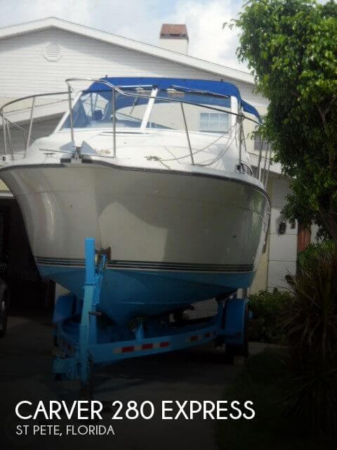 Used Carver Boats For Sale in Florida by owner | 1995 Carver 28