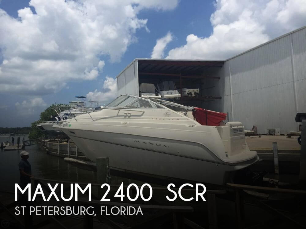 2000 Maxum 2400 SCR - Photo #1
