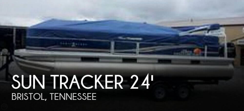 2013 Sun Tracker Party Barge 24 DLX - Photo #1