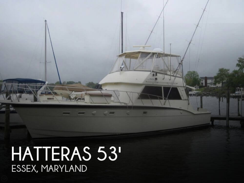 1982 Hatteras 55 Convertible - Photo #1