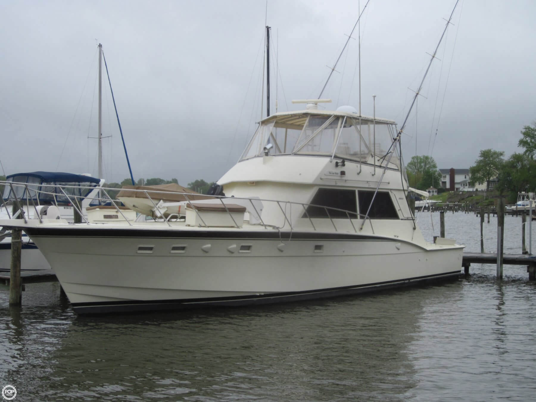 2876285XXL hatteras for sale between $100k and $250k pop yachts Hatteras Sportfish 45C at virtualis.co