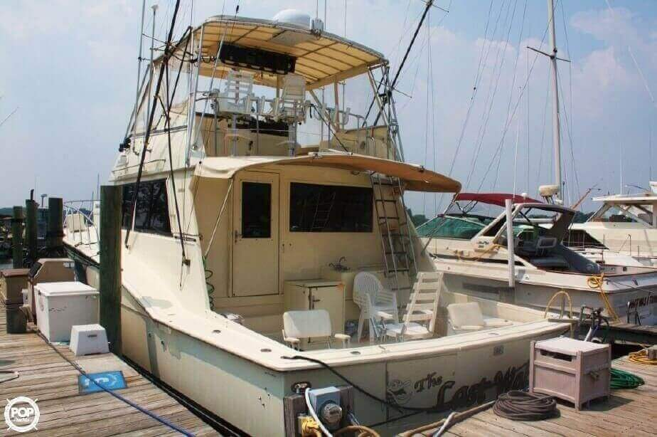 1982 Hatteras 55 Convertible - Photo #15