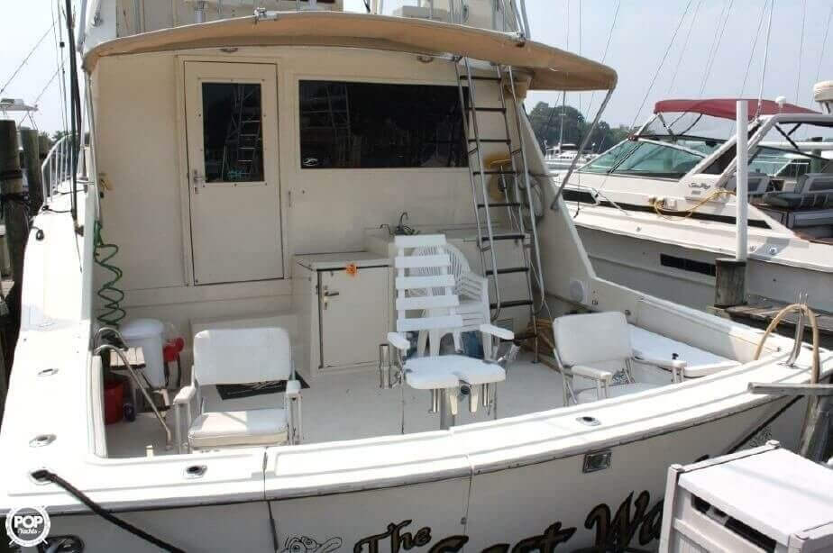 1982 Hatteras 55 Convertible - Photo #16
