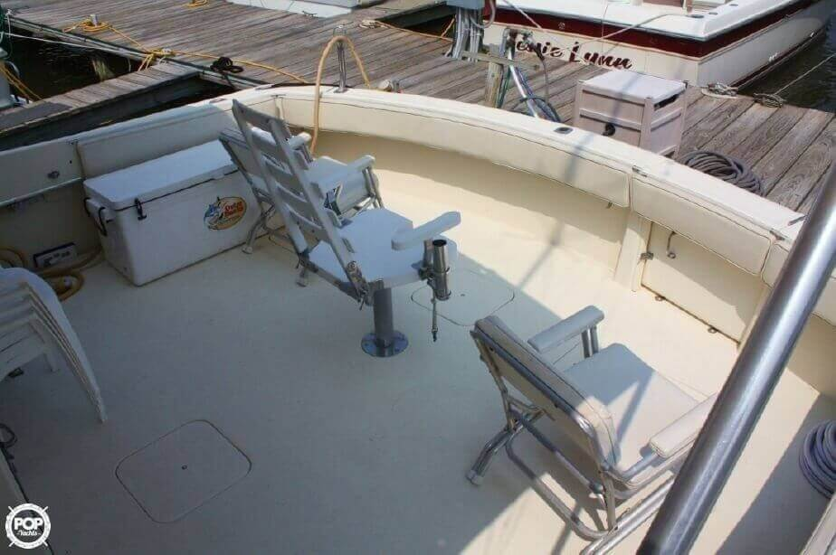 1982 Hatteras 55 Convertible - Photo #30
