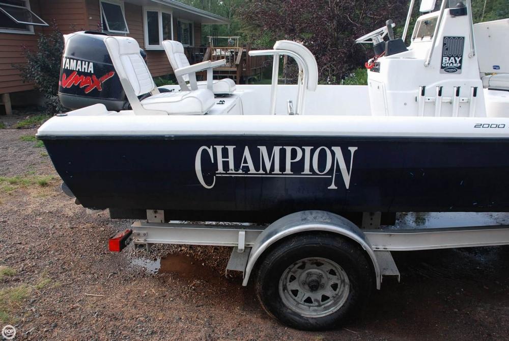 2001 Champion 2000 Bay Champ - Photo #19