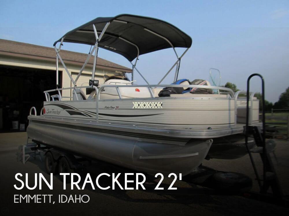 2009 Sun Tracker 21 Fishin Barge - Photo #1