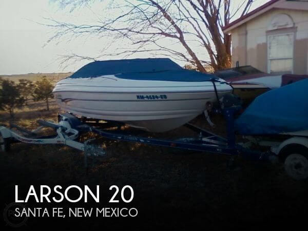 Used Boats For Sale in Albuquerque, New Mexico by owner | 2002 Larson 20
