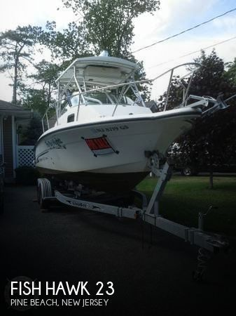 2002 fish hawk 23 power boat for sale in pine beach nj for Fish hawk fl