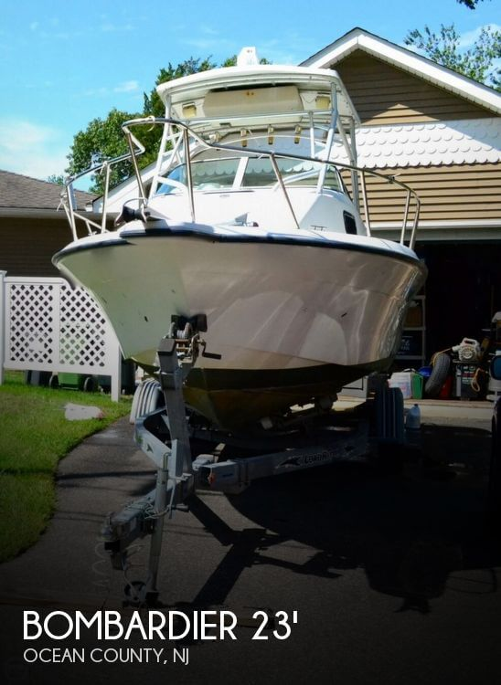 2002 Sea Doo Sportboat boat for sale, model of the boat is Fishhawk 230 WA & Image # 1 of 40
