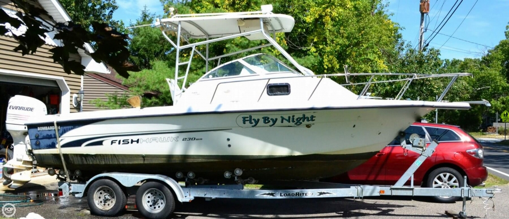 2002 Sea Doo Sportboat boat for sale, model of the boat is Fishhawk 230 WA & Image # 5 of 40