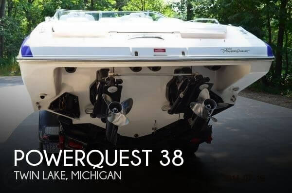 Used Boats For Sale in Grand Rapids, Michigan by owner | 1999 Powerquest 38