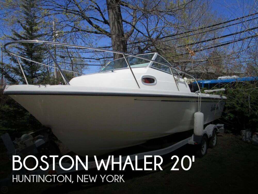 2005 Boston Whaler 205 Eastport - Photo #1